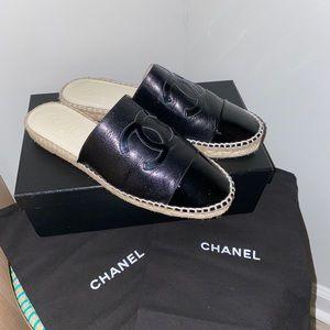 Chanel Slide Espadrilles